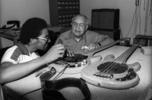 Louis Johnson Leo fender