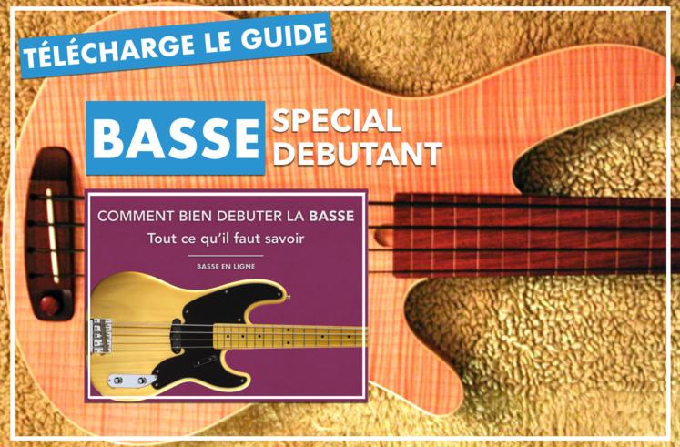 bassiste débutant