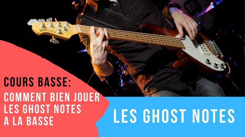 basse ghost note